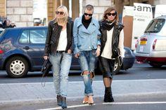 London street fashion, fall 2014