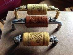 Cork Drawer Pulls By Vine Designs Llc