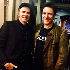 """Duran Duran (@duranduran) su Instagram: """"JT & SLB out on the town to see 'Our Ladies of Perpetual Succour' #ourladies they loved it! #JT…"""""""
