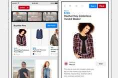 """Pinterest Makes Major E-Commerce Push With """"Buyable Pins"""". Pinterest will give U.S. users the ability to purchase directly on the social discovery network later this month."""