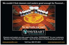 #teampaverart is the best in the hardscaping business