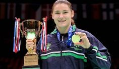 Well done Katie Taylor! I knew she would do it. Katie Taylor, Olympics, Champion, Homeland, Irish, Pictures, Inspiration, Motivation, Watch