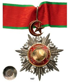 ORDER OF THE MEJIDIE Commander's Cross, 3rd Class, : Lot 2711