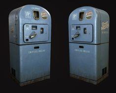Vintage Pepsi vending machine, Oleg Tsitovich on ArtStation at https://www.artstation.com/artwork/vintage-pepsi-vending-machine
