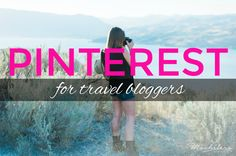 Pinterest for Travel Bloggers is an in-depth guide taking you beyond the basics to help you drive major traffic to your travel blog.