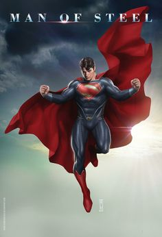 Man of Steel by Admira Wijaya
