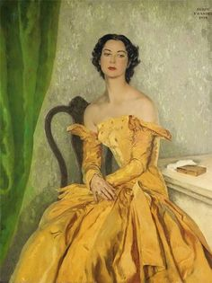 ~ Serge Petrovitch Ivanoff ~ Russian artist, Moscow 1893 - 1983