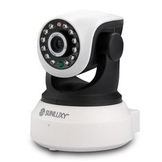 H.264 1.0 MP HD 720P P2P Pan/Tilt WiFi Wireless SD IR Network IP Security Camera #Sunluxy
