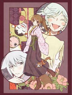 Kamisama Hajimemashita - Nanami, Tomoe, Mizuki,  and Mikage