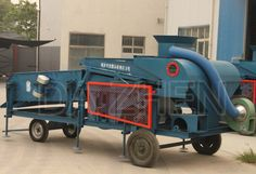 DZL-25 grain cleaner for wheat, rice, maize, sorghum, millet, beans, oil seeds...