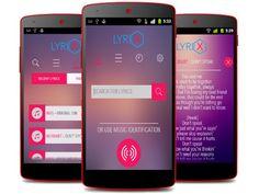 Aplicaciones para buscar letras de canciones en Android; buscar letras de canciones en español, inglés y mas. #música #android