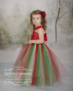 Christmas Crochet Top Tutu Dress by TutuSisters on Etsy, $28.00