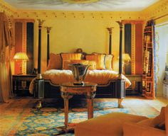 Miami Beach's most exceptional experience waits for you at The Villa Casa Casuarina, inside the former Versace Mansion, where unparalleled service and. Versace Mansion, Versace Home, Casa Casuarina, Mansions, Bed, Room, House, Furniture, Home Decor