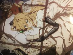 Violet Evergarden Wallpaper, Violet Evergreen, Violet Evergarden Anime, Kyoto Animation, Some Beautiful Pictures, Another Anime, Best Waifu, Animes Wallpapers, Anime Art Girl