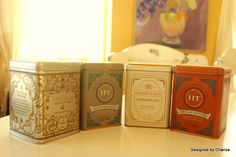 How to make a Tea Tin Herb Garden   The Tins  I have been meaning to make this herb garden for a while, but when the temperature dro...