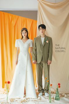 Weddings Discover Sample:The Natural Colors - WEDDING PACKAGE - Mr. K Korea pre wedding - Everyday something new and special Korea pre wedding by Mr. K Korea Wedding Pre Wedding Poses, Pre Wedding Photoshoot, Wedding Shoot, Wedding Dresses, Korean Wedding Photography, Wedding Photography Inspiration, Fashion Photography, Minimal Wedding Dress, Couple Outfits