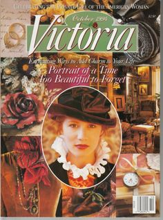 Victoria Magazine October 1994 Portrait of a Time Too Beautiful to Forget on Ebay