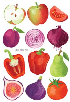 Food infographic Fruit and vegetable illustration for English Provender Foods Vegetable illustrat. Infographic Description Fruit and vegetable Vegetable Illustration, Fruit Illustration, Food Illustrations, Easy To Digest Foods, Vegetable Drawing, Cereal Recipes, Food Drawing, Healthy Snacks For Kids, Vegetable Dishes