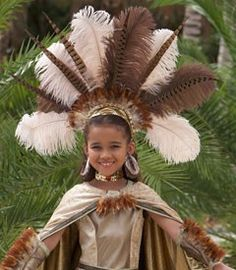 Costume idea.  sc 1 st  Pinterest & Free for All: Aztec Princess costume | Holiday crafting | Pinterest ...