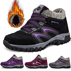 f1ca50fe16d278 gracosy Women s Hiking Shoes High Top Sneaker Winter Warm Hook Loop Snow  Shoes  fashion  clothing  shoes  accessories  womensshoes  boots (ebay link)