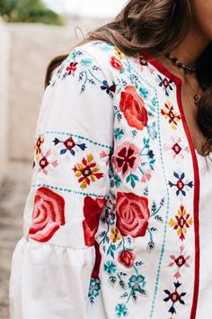 MISA jacket with Embroidery in Santa Barbara