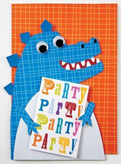 Dinosaur Party Invitation from Meri Meri