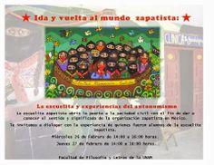 Foro: Ida y vuelta al mundo zapatista, la Escuelita y experiencias de la autonomía