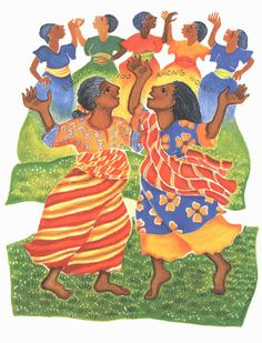 """Women, discipleship, joy and dancing """"Blessed Aere you"""" by Ansgar Holmber, CSJ"""