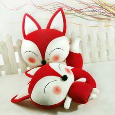 Fox dolls.