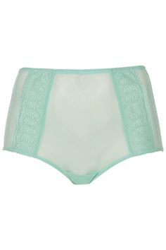 Lace High-Waisted Knickers