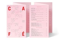 the standard east village's café and restaurant identities by triboro