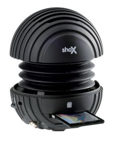 The shoX Solo ... the first portable music player/speaker of its kind!