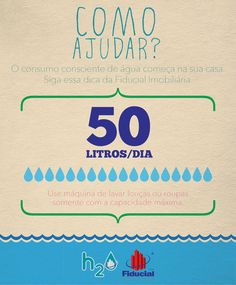 A Fiducial Imobiliária e a A+ lançam a campanha do Dia Mundial da Água dando as melhores dicas para economizar recursos naturais, financeiros e de como conviver de forma saudável com os vizinhos.