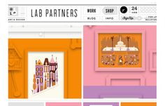 Lab Partners | Web Design
