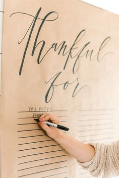 Modern and Feminine Friendsgiving Party - Inspired By This
