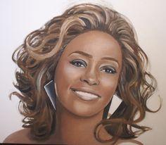 Whitney Houston by Karlos1203