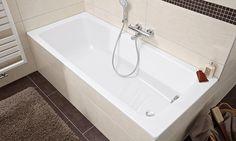 Baignoire Cayono 1 Bathroom Toilets, Bathrooms, Four Corners, Interior Design Services, Bathroom Furniture, Corner Bathtub, Contemporary Style, Service Design, Bathing