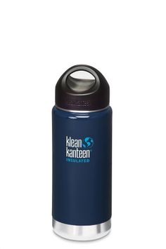 Klean Kanteen Wide Insulated Bottle with Stainless Steel Loop Cap (Night Sky, 16-Ounce) by klean kanteen. $27.95. The new vacuum insulated stainless steel Klean Kanteens keep cold drinks icy for up to 24 hours and retain the temperature of hot drinks for up to 6 hours.