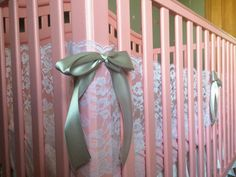 lace breathable crib bumper