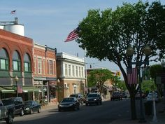 Go back to my hometown, Chelsea Michigan, and visit