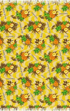 Abacaxi Rio de Janeiro Fringe Fashion, Fringes, Beach Towel, Outdoor, Style, Rio De Janeiro, Pine Apple, Outdoors, Swag