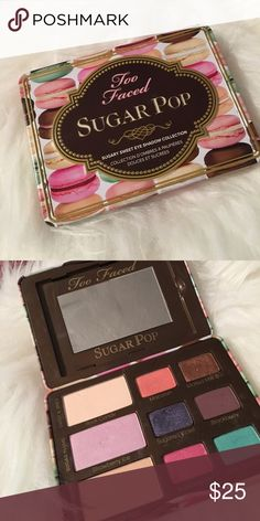 Too Faced SugarPop Used less than a handful of times no use for it anymore Anastasia Beverly Hills Makeup Eyeshadow