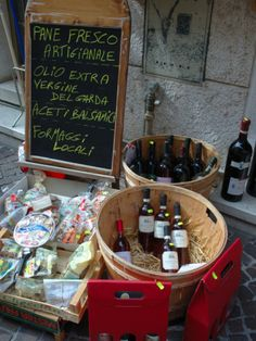 Wine and Cheese Shop, Lake Garda, Bardolino, Veneto, Italy