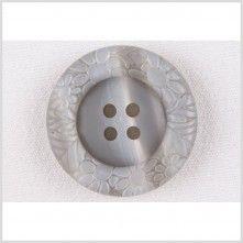 32L/20mm Gray Plastic Button