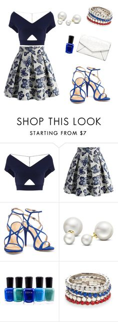 """""""Untitled #3"""" by selma-dautovic ❤ liked on Polyvore featuring Roland Mouret, Chicwish, Schutz, Allurez, Zoya, Red Camel and LULUS"""