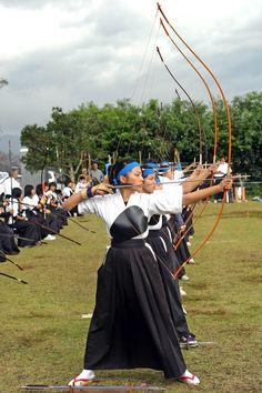 Japanese Kyudo Archery in Miyazaki