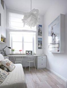 Zdjęcie numer 7 w galerii - Mieszkanie na 15 m kw. Mikroskopijna ale wygodna kawalerka Teak, Loft, Kid, Interiors, Bedroom, Furniture, Home Decor, House, Child