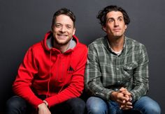 Have you heard of Hamish and Andy? Hilarious...