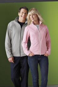 Promotional Products Ideas That Work: Ladies' recycled polyester fleece full-zip jacket. Get yours at www.luscangroup.com