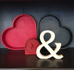 Scene on a shelf. How I love an ampersand!
